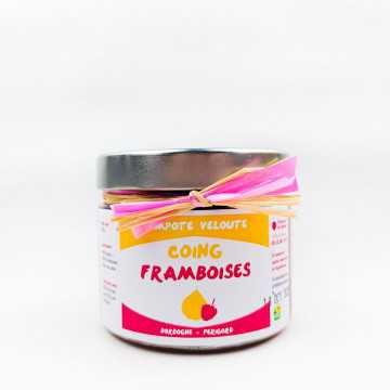 Compote coing-framboise - 400g